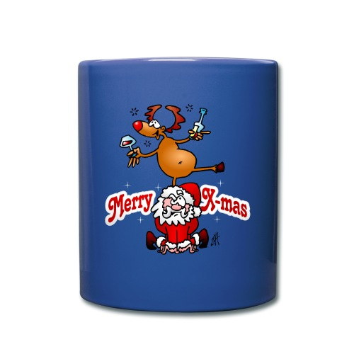 Merry X-mas - Merry Christmas Mugs & Drinkware - Full Colour Mug