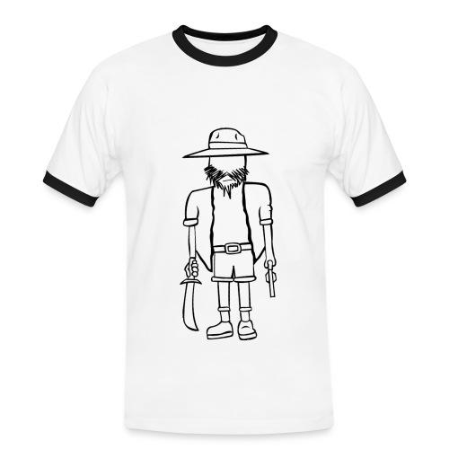 HATDUDE - Herre kontrast-T-shirt