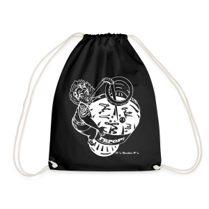 Comical Pin up Bottle DRAWSTRING BAG - Drawstring Bag