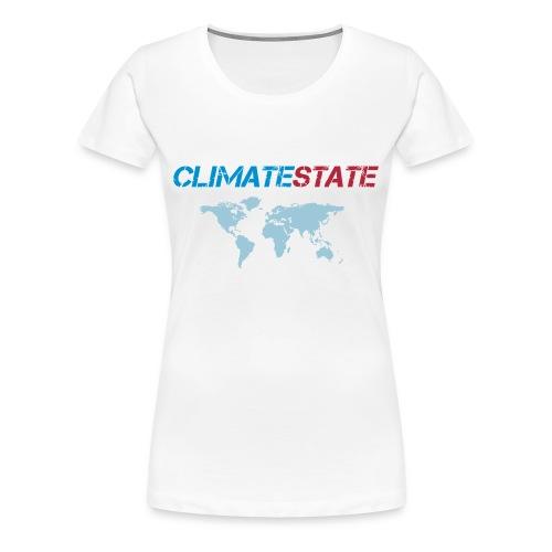 World Map - Women's Premium T-Shirt