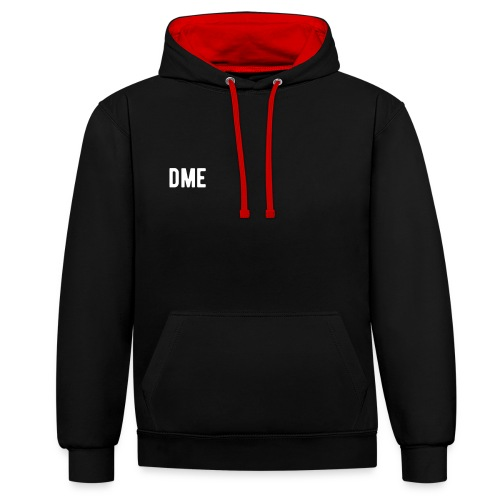 Hoodie Dome - Contrast Colour Hoodie