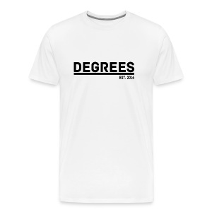 DEGREES EST 2016 STYLISH MEN'S T-SHIRT - Men's Premium T-Shirt