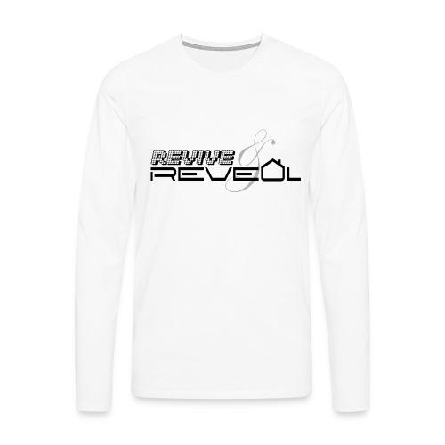 Revive and Reveal - Men's Premium Longsleeve Shirt