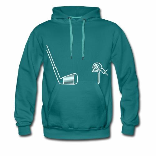 sweat shirt bleu  - Sweat-shirt à capuche Premium pour hommes