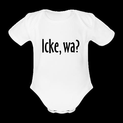 Icke, wa? Berlin Baby Body - Baby Bio-Kurzarm-Body