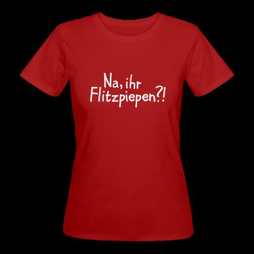 Flitzpiepen Berlin Bio T-Shirt - Frauen Bio-T-Shirt