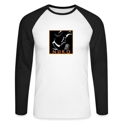 NDKO Baseball Shirt - Men's Long Sleeve Baseball T-Shirt