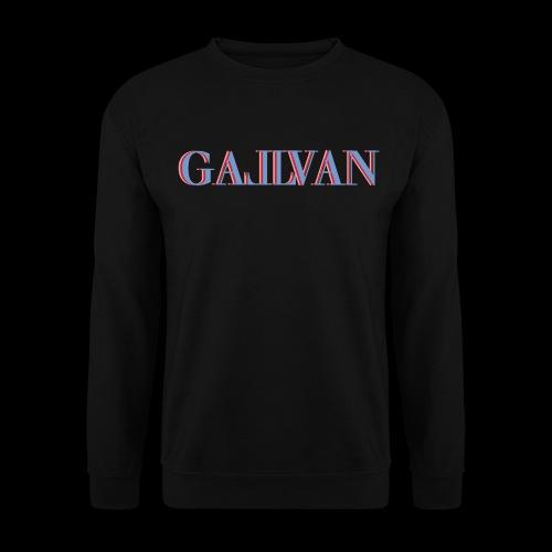 Gallvan Logo Pullover 3 Colla Nero  - Männer Pullover