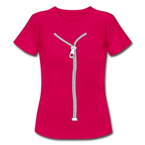 Vrouwen T-shirt - try to open