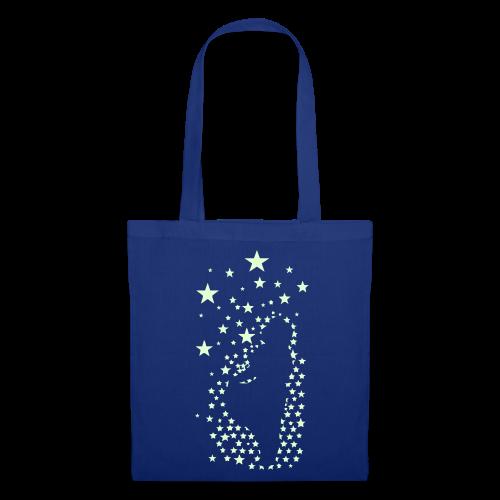 Sterntaler (leuchtend) - Stofftasche - Stoffbeutel