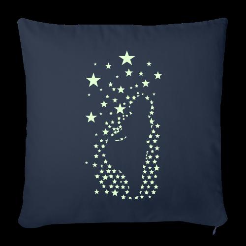 Sterntaler (leuchtend) - Kissenbezug 44 x 44 cm - Sofakissenbezug 44 x 44 cm