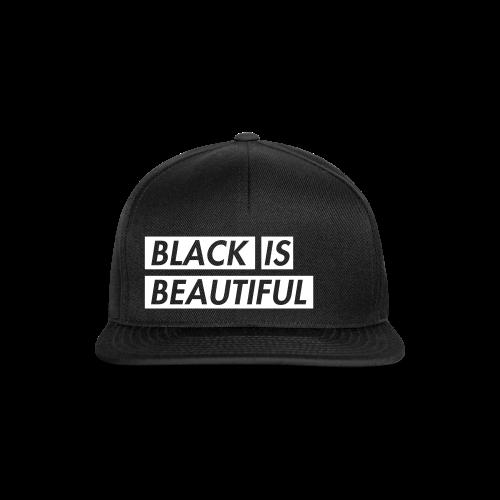 Black is beautiful SNAPBACK - Snapback Cap