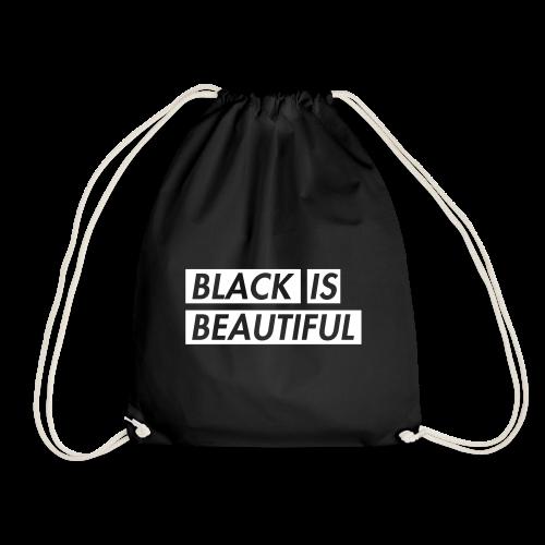 Black is beautiful BAG - Drawstring Bag