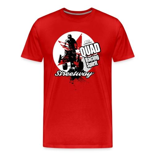 Quad Racing spirit - T-shirt Premium Homme