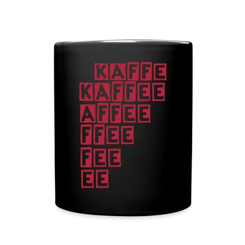 Tasse KAFFEE  - Tasse einfarbig