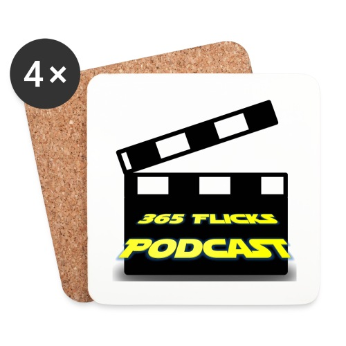 365 Flicks Podcast Coasters - Coasters (set of 4)