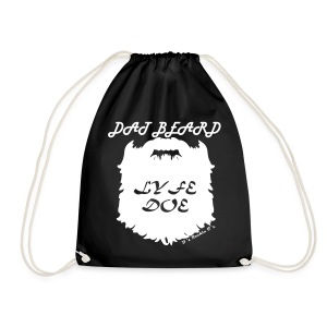 Dat Beard Lyfe Doe DRAWSTRING BAG - Drawstring Bag