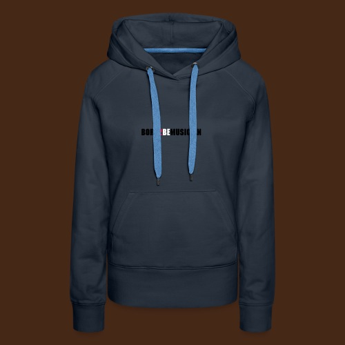 born 2 be musician_female - Frauen Premium Hoodie