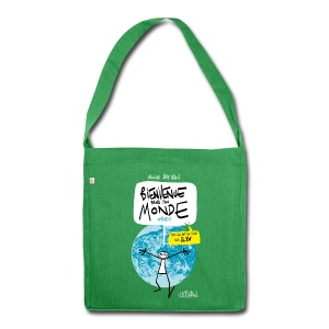 #BDTM Tote Bag - Shoulder Bag made from recycled material