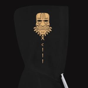 Tiki heah Hoodie FLocage - Sweat-shirt contraste