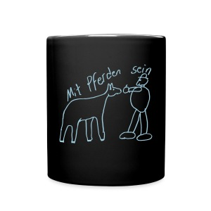 Naiv Print Mug ( Print: Light Blue) - Tasse einfarbig