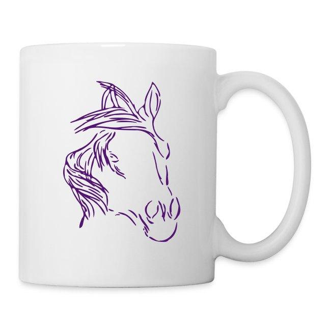 Dreamhorse Tasse ( Print: Violet)