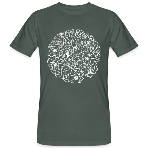 ELYX Soccer Ball - Men's Organic T-shirt