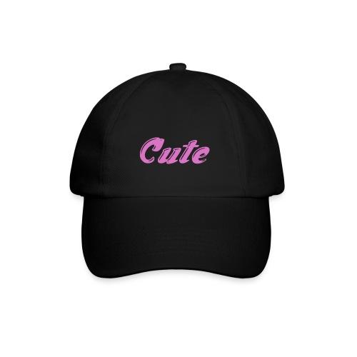 cute baseball hat [black] - Baseball Cap