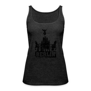 Quadriga Berlin Vintage Tank Top - Frauen Premium Tank Top
