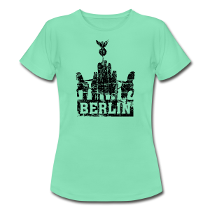 Quadriga Berlin Vintage T-Shirt - Frauen T-Shirt