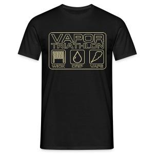 Vapor Triathlon - Männer T-Shirt