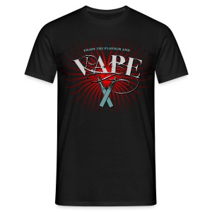 Enjoy the flavour, vape - Männer T-Shirt