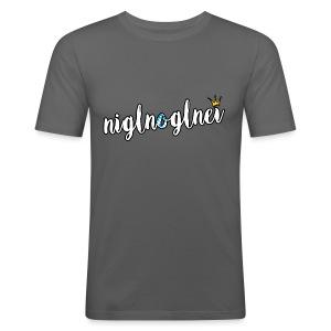 Niglnoglnei - Männer Slim Fit T-Shirt