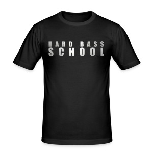 Hard Bass School HBC054 - Men's Slim Fit T-Shirt