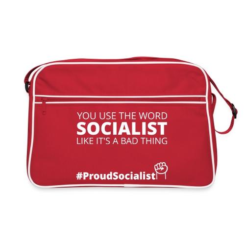 #ProudSocialist Retro Bag - Retro Bag