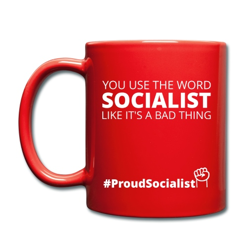 #ProudSocialist Mug - Full Colour Mug