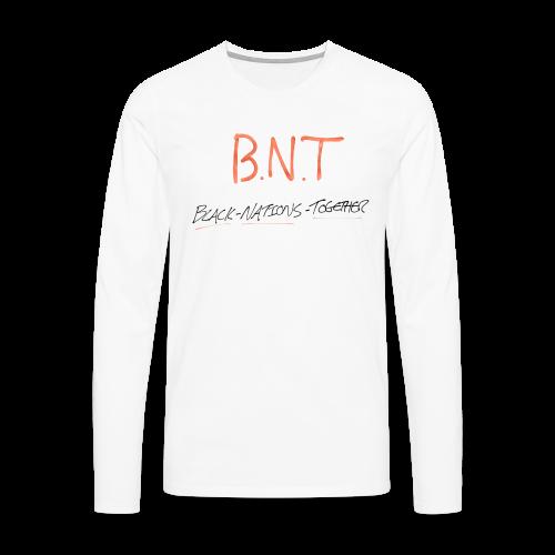 Black Nations together (Mens) - Men's Premium Longsleeve Shirt