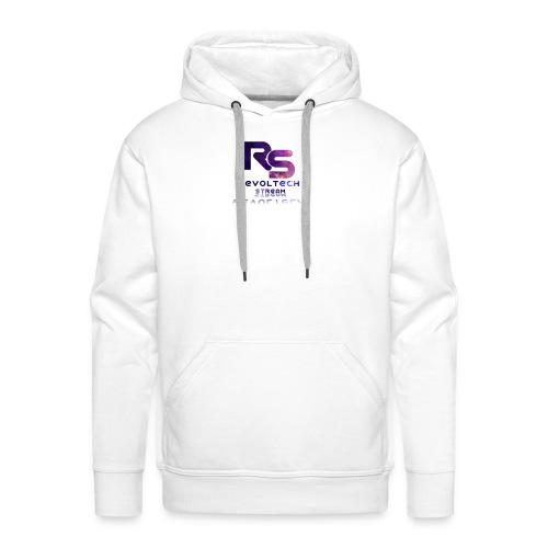 Férfi Prémium Kapucnis Pulóver Fehér - Men's Premium Hoodie