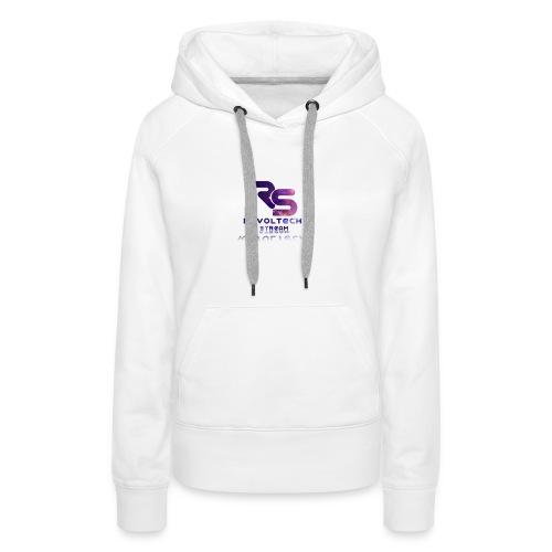 Női Prémium Kapucnis Pulóver Fehér - Women's Premium Hoodie