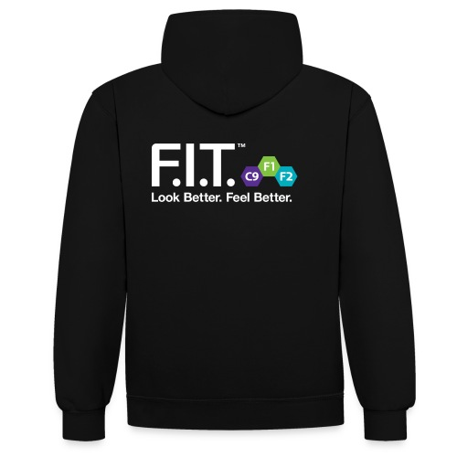 Forever FIT Hoodie - Contrast Colour Hoodie