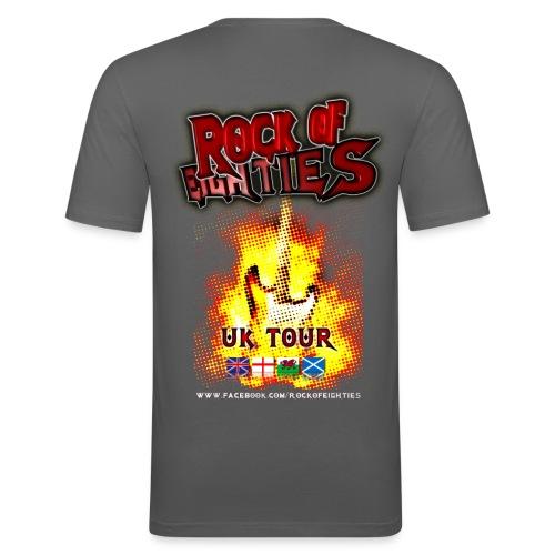Rock of 80's basics mens T-shirt - Men's Slim Fit T-Shirt