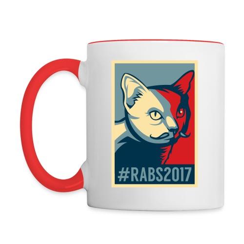 MUG bi/color #RABS2017  - Mug contrasté