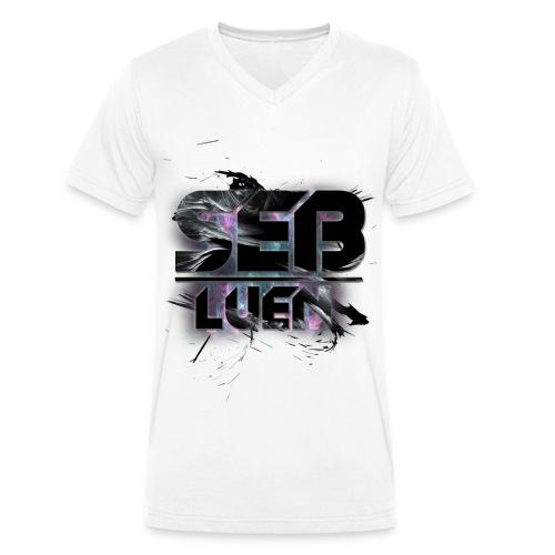 SEB LUEN Colour V-neck Male - Ekologisk T-shirt med V-ringning herr från Stanley & Stella
