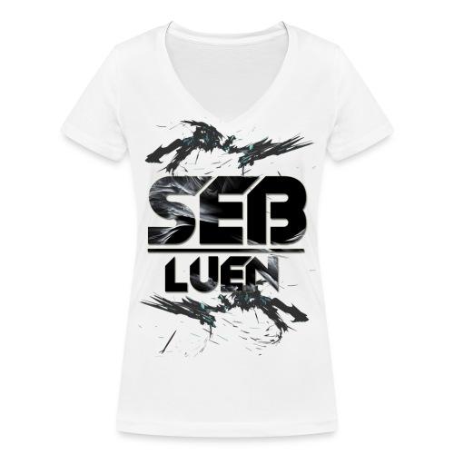 SEB LUEN Cool V-neck Female - Ekologisk T-shirt med V-ringning dam från Stanley & Stella