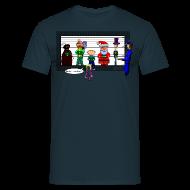 T-Shirts ~ Männer T-Shirt ~ Claus klaut Kekse - DIGITAL