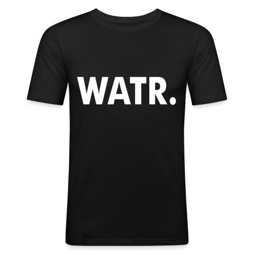 WATR SLIM FIT T-SHIRT MEN BLACK - slim fit T-shirt