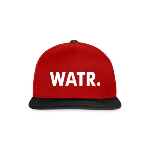 WATR SNAPBACK RED & BLACK - Snapback cap