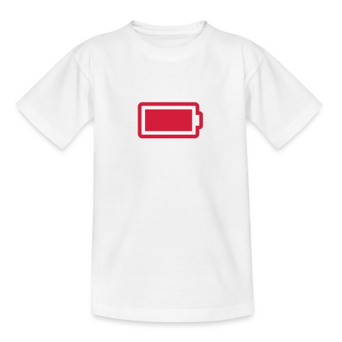 T-Shirt Batterie - Teenager T-Shirt