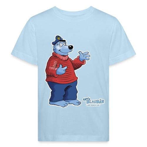 Käpt'n Blaubär - Kinder Bio-T-Shirt