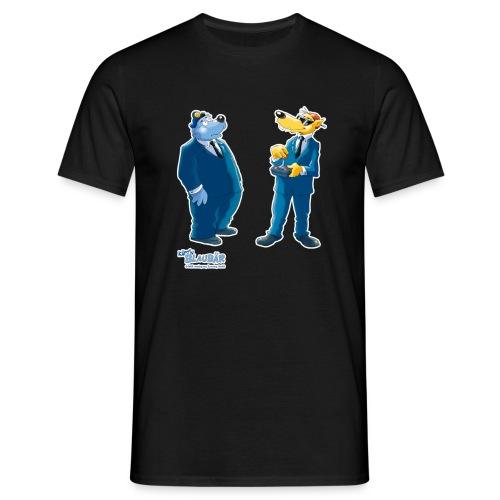 Käpt'n Blaubär Und Hein Blöd Agenten - Männer T-Shirt